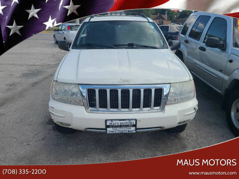 2004 Jeep Grand Cherokee for sale at MAUS MOTORS in Hazel Crest IL