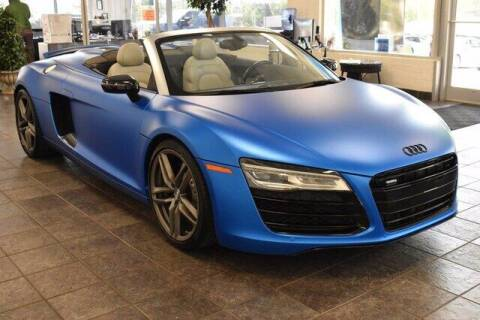 2015 Audi R8 for sale at Hickory Used Car Superstore in Hickory NC