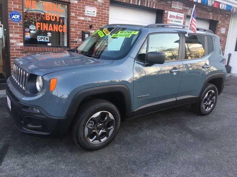 2017 Jeep Renegade for sale at 5 Corner Auto Sales Inc. in Brockton MA
