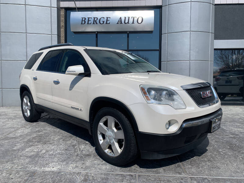 2008 GMC Acadia for sale at Berge Auto in Orem UT