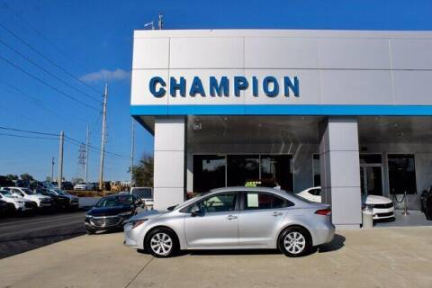 2020 Toyota Corolla for sale at Champion Chevrolet in Athens AL