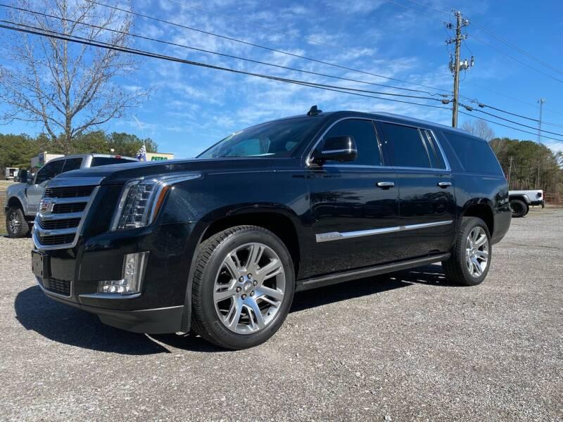 2016 Cadillac Escalade ESV for sale at 216 Auto Sales in Mc Calla AL