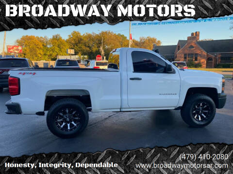 2015 Chevrolet Silverado 1500 for sale at BROADWAY MOTORS in Van Buren AR