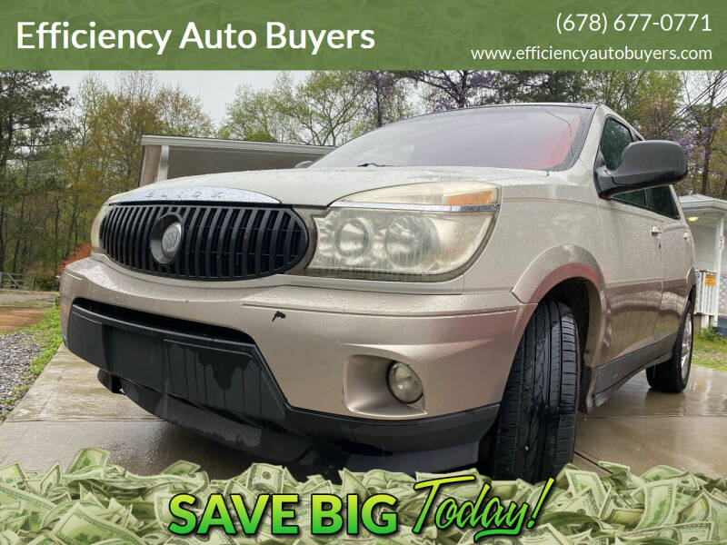 2005 Buick Rendezvous for sale at Efficiency Auto Buyers in Milton GA