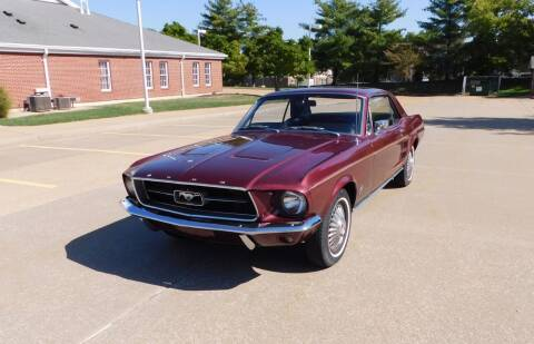 1967 Ford Mustang for sale at WEST PORT AUTO CENTER INC in Fenton MO
