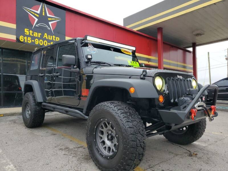 2009 Jeep Wrangler Unlimited for sale at Star Auto Inc. in Murfreesboro TN