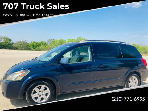 2004 Nissan Quest for sale at 707 Truck Sales in San Antonio TX