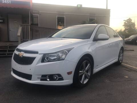 2012 Chevrolet Cruze for sale at Saipan Auto Sales in Houston TX