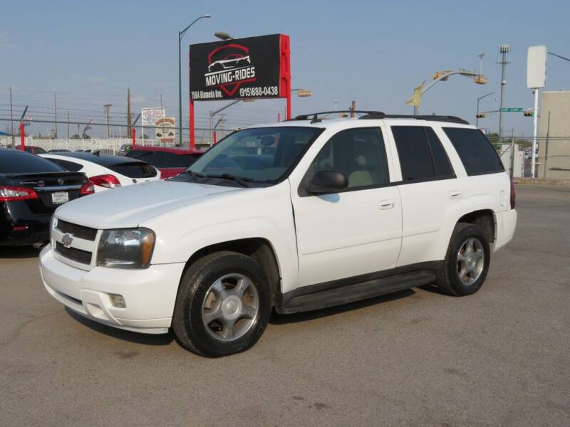 2008 Chevrolet TrailBlazer for sale at Moving Rides in El Paso TX