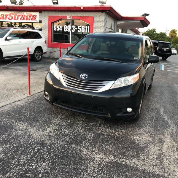 2016 Toyota Sienna for sale at CARSTRADA in Hollywood FL