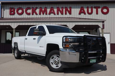 2016 Chevrolet Silverado 2500HD for sale at Bockmann Auto Sales in Saint Paul NE