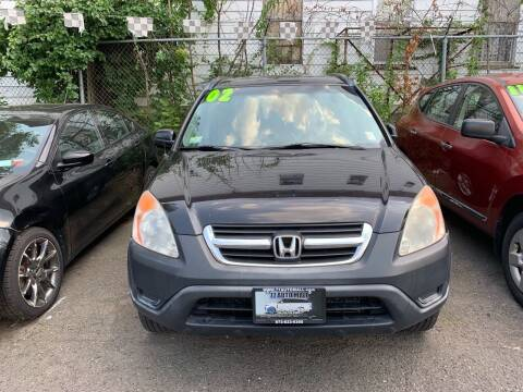 2002 Honda CR-V for sale at 77 Auto Mall in Newark NJ