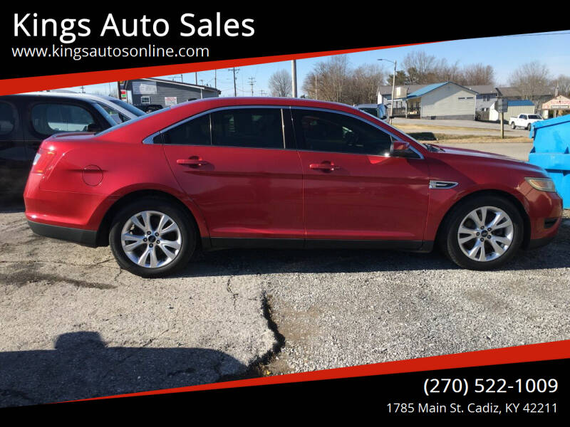 2011 Ford Taurus for sale at Kings Auto Sales in Cadiz KY