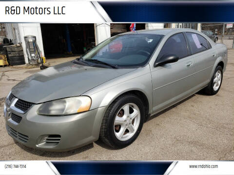 2004 Dodge Stratus for sale at R&D Motors LLC in Cleveland OH