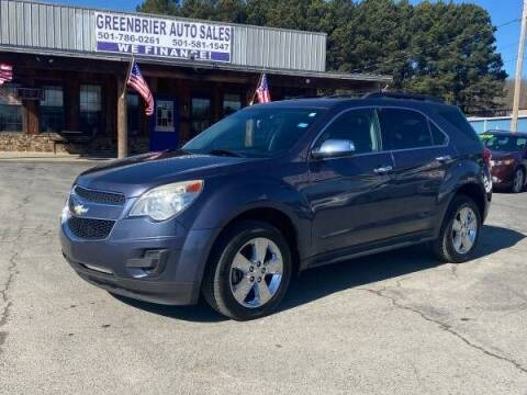 2013 Chevrolet Equinox for sale at Greenbrier Auto Sales in Greenbrier AR