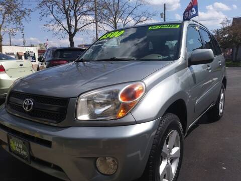 2004 Toyota RAV4 for sale at Oak Hill Auto Sales of Wooster, LLC in Wooster OH