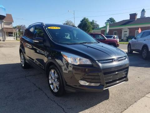 2015 Ford Escape for sale at BELLEFONTAINE MOTOR SALES in Bellefontaine OH