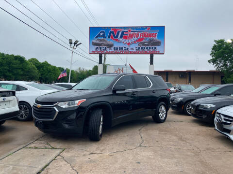 2018 Chevrolet Traverse for sale at ANF AUTO FINANCE in Houston TX