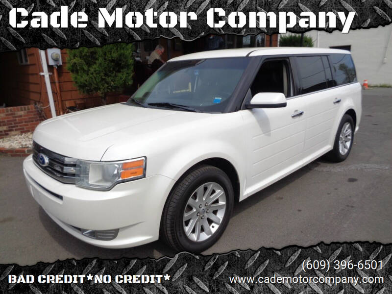 2012 Ford Flex for sale at Cade Motor Company in Lawrence Township NJ