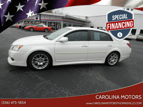 2008 Toyota Avalon for sale at CAROLINA MOTORS in Thomasville NC