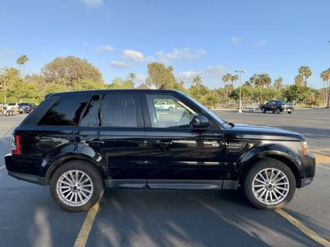 2012 Land Rover Range Rover Sport for sale at TOP OFF MOTORS in Costa Mesa CA