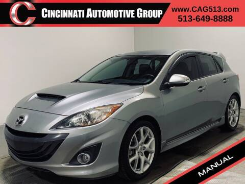 2012 Mazda MAZDASPEED3 for sale at Cincinnati Automotive Group in Lebanon OH