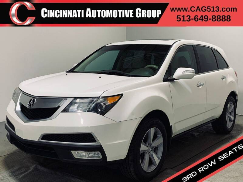 2013 Acura MDX for sale at Cincinnati Automotive Group in Lebanon OH