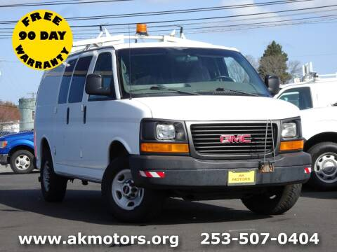 2007 GMC Savana Cargo for sale at AK Motors in Tacoma WA