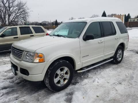 2004 Ford Explorer for sale at Capital Fleet  & Remarketing  Auto Finance in Columbia Heights MN