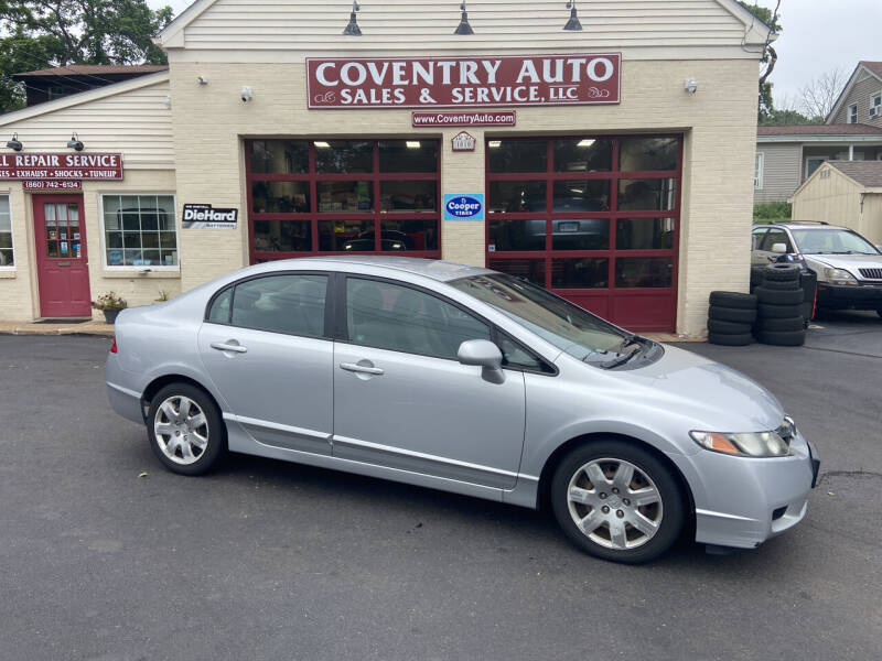 2011 Honda Civic for sale at COVENTRY AUTO SALES in Coventry CT