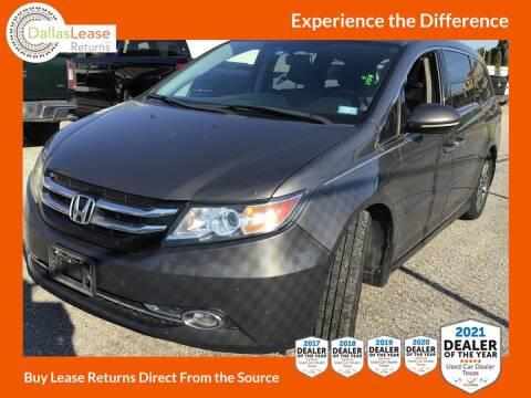 2014 Honda Odyssey for sale at Dallas Auto Finance in Dallas TX