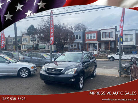 2008 Lexus RX 350 for sale at Impressive Auto Sales in Philadelphia PA