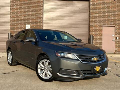 2016 Chevrolet Impala for sale at Effect Auto Center in Omaha NE