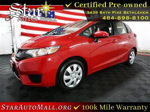 2016 Honda Fit for sale at STAR AUTO MALL 512 in Bethlehem PA