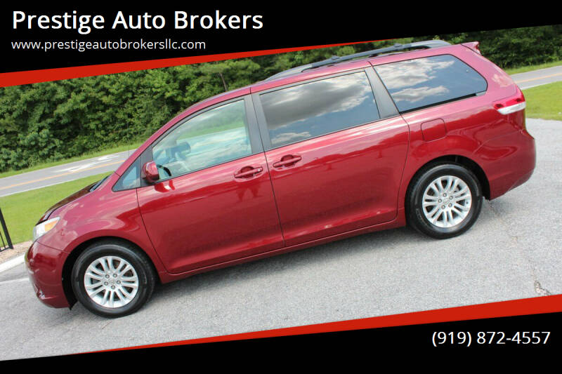 2013 Toyota Sienna for sale at Prestige Auto Brokers in Raleigh NC