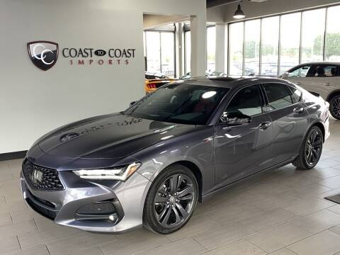 2021 Acura TLX for sale at Coast to Coast Imports in Fishers IN