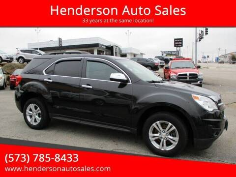 2014 Chevrolet Equinox for sale at Henderson Auto Sales in Poplar Bluff MO