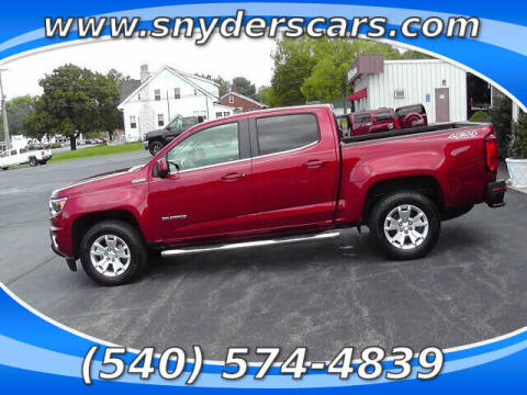 2017 Chevrolet Colorado for sale at Snyders Auto Sales in Harrisonburg VA