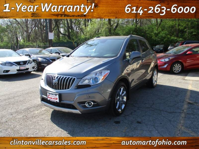 2013 Buick Encore for sale at Clintonville Car Sales - AutoMart of Ohio in Columbus OH