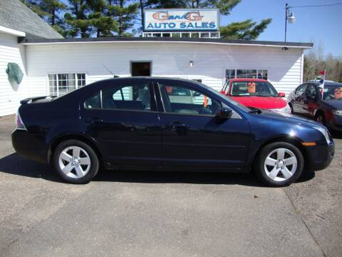 2008 Ford Fusion for sale at G and G AUTO SALES in Merrill WI