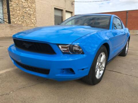 2011 Ford Mustang for sale at Dynasty Auto in Dallas TX