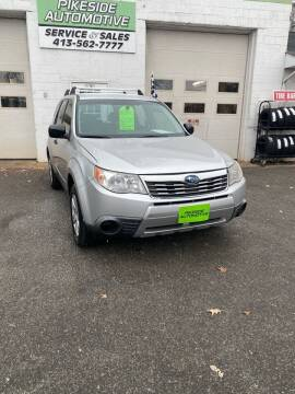 2010 Subaru Forester for sale at Pikeside Automotive in Westfield MA