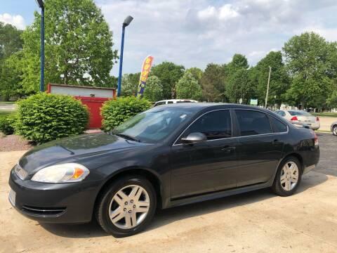 2012 Chevrolet Impala for sale at TNT Motor Sales in Oregon IL