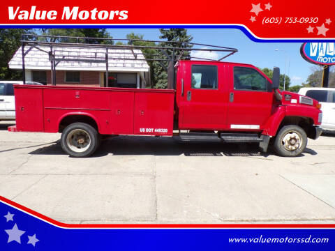 2005 Chevrolet C5500 for sale at Value Motors in Watertown SD