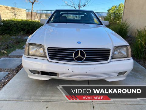 1992 Mercedes-Benz 500-Class for sale at On Line VW BENZ 70'sCar Group in Warehouse CA