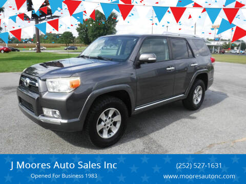 2011 Toyota 4Runner for sale at J Moores Auto Sales Inc in Kinston NC