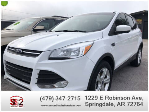 2013 Ford Escape for sale at Smooth Solutions 2 LLC in Springdale AR