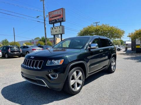 2014 Jeep Grand Cherokee for sale at Autohaus of Greensboro in Greensboro NC