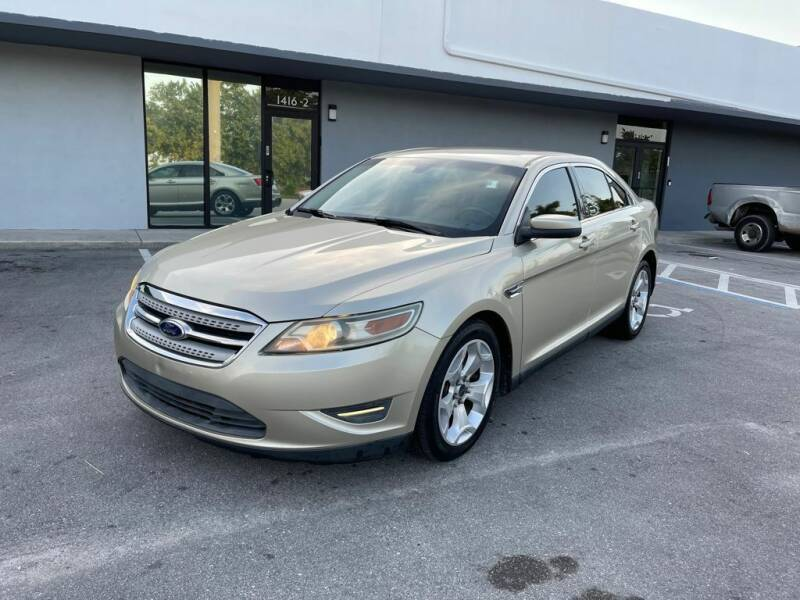 2011 Ford Taurus for sale at UNITED AUTO BROKERS in Hollywood FL