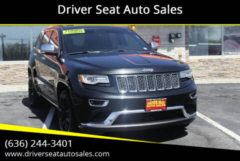 2014 Jeep Grand Cherokee for sale at Driver Seat Auto Sales in St. Charles MO